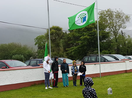Green Flag Awarded to St Aidans NS Ballilntrillick
